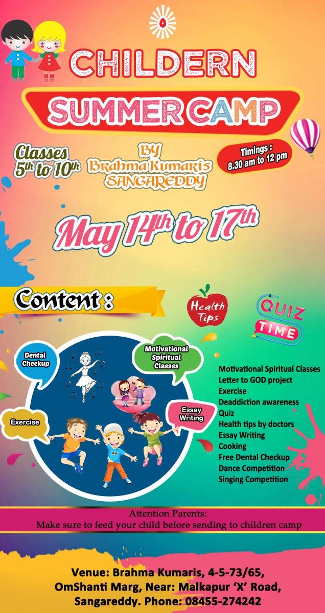 Children Personality Development Camp 2019