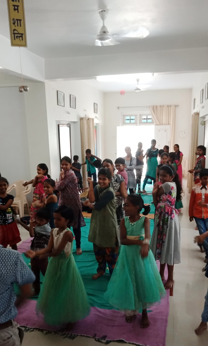 Day 1 Children Summer Camp a Sangareddy Center